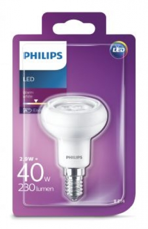 Philips LED Lampe E14 R50 2.9W 230Lm Warmweiss